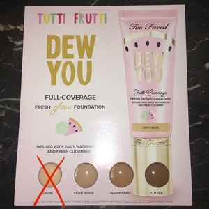 FREE SAMPLE WITH PURCHASE! Too Faced Foundation 💧